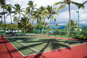 Well maintained Tennis Court